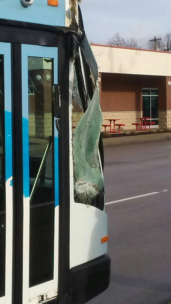 look at what happened 2 d bus i was on  by TheWalrusclown