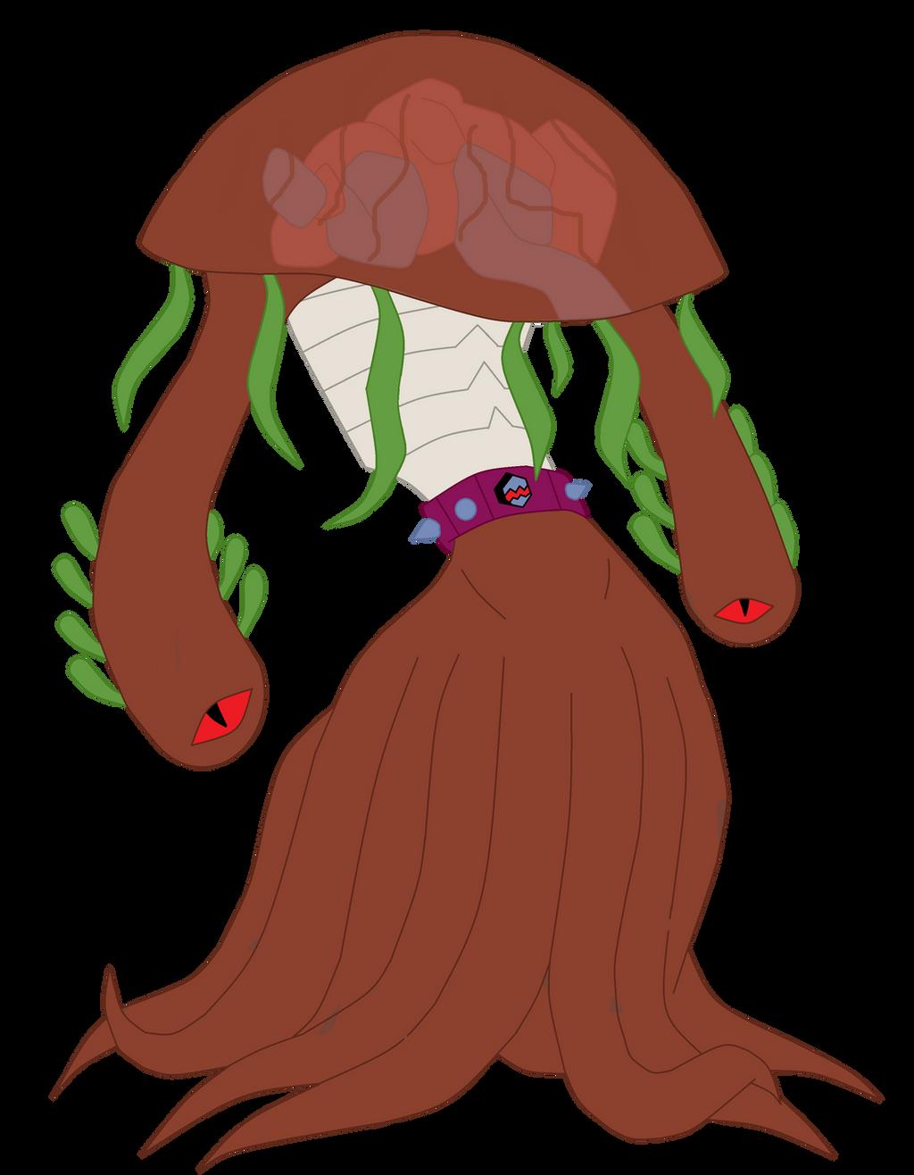 Nemitrix predator: Jellysting by TheWalrusclown