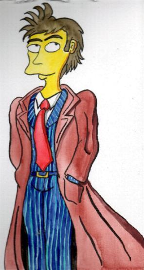 Ten - Simpsons style by Eddie-Lou-Fan