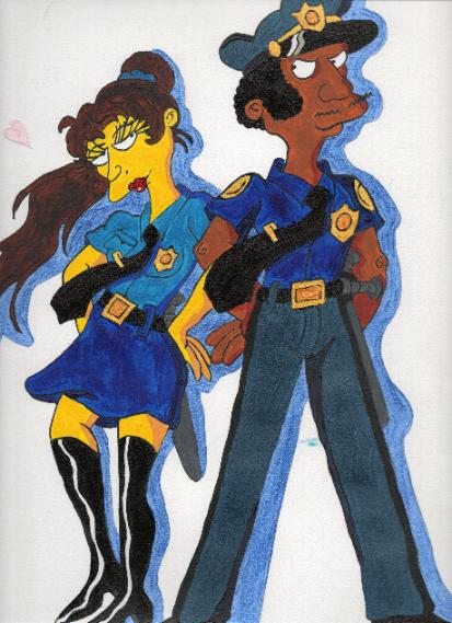 A couple of cops by Eddie-Lou-Fan