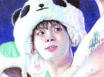 [SHINee Jonghyun] Puppy wanna be panda ^^