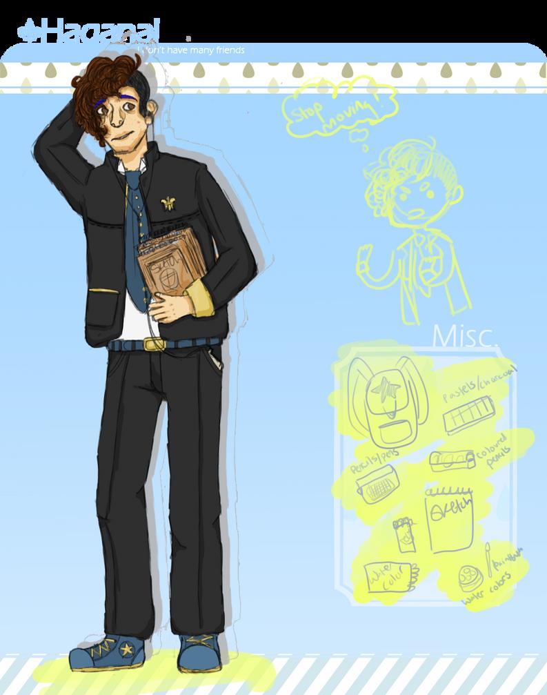 Haganai-Club App : Wilfred by Eva-chan3