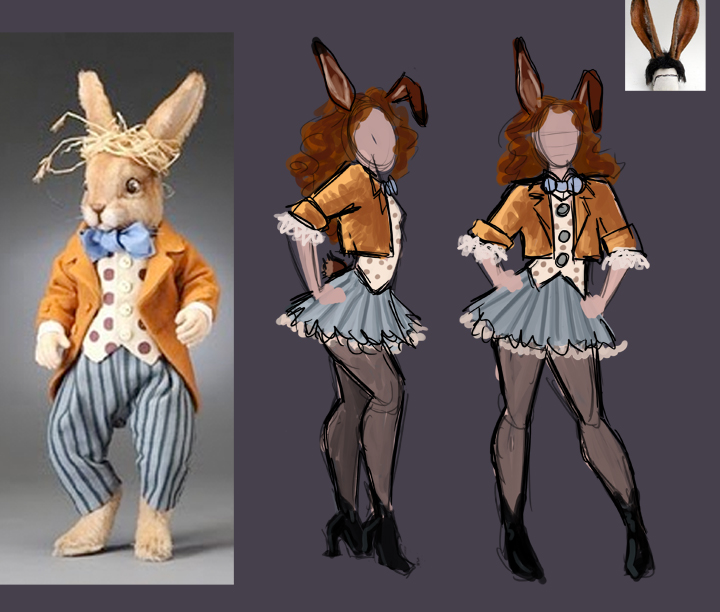 March Hare Alice In Wonderland: March Hare Costume Concept By Jezzy On DeviantArt
