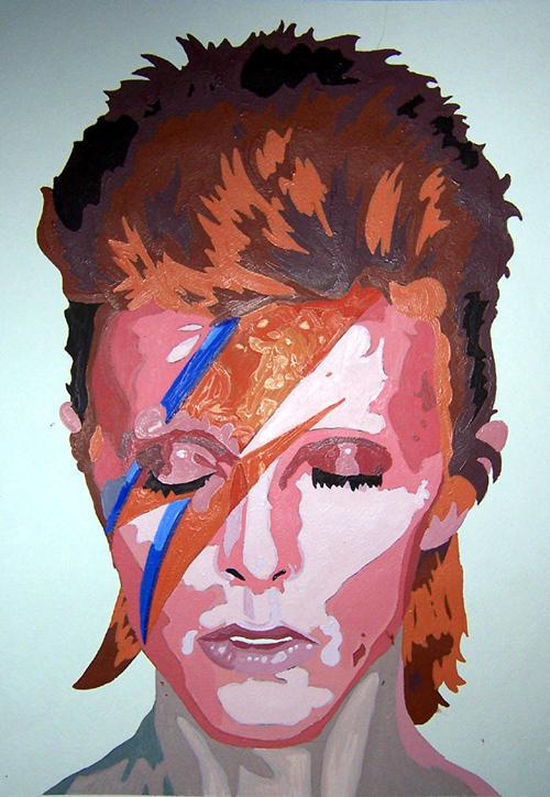 Bowie Face Paint