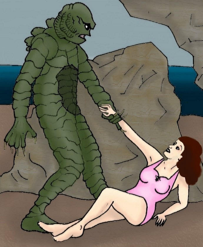 Backyard Abortion: Creature From The Black Lagoon By BackyardAbortion On