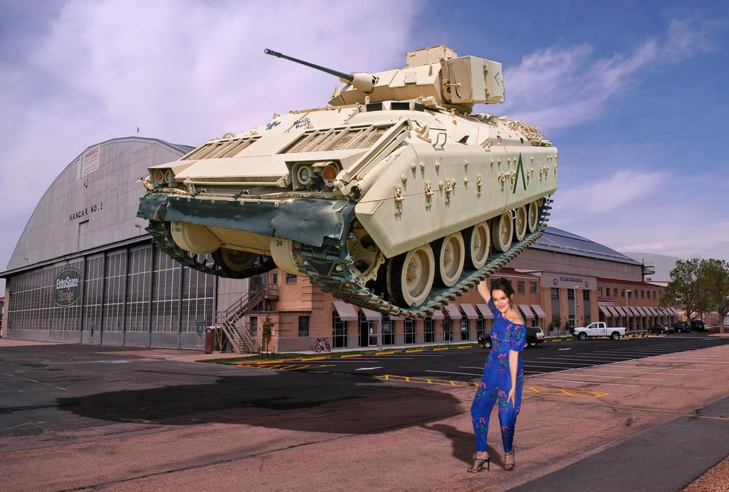 Jemma Simmons Tank Lift by Grimmtoof