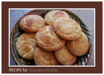 Recipe for Snickerdoodles by LadyAliceofOz
