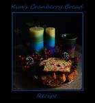 Kim's Cranberry Bread Recipe