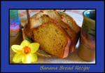 Easy Banana Bread Recipe...
