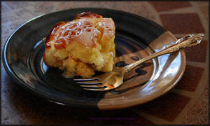 Gluten Free Fruit and Cream Cheese Coffee Cake