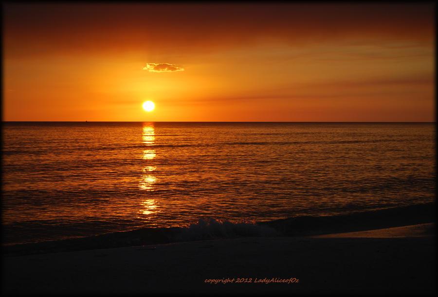 Autumn's Glow...Mexico Beach 10-24-12 by LadyAliceofOz