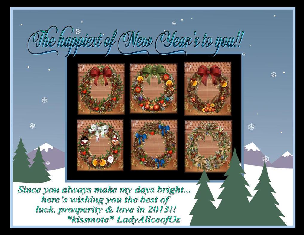 Happy New Year to you!! by LadyAliceofOz