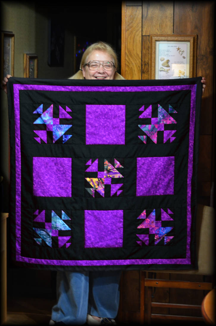 Happy New Year Lap Quilt