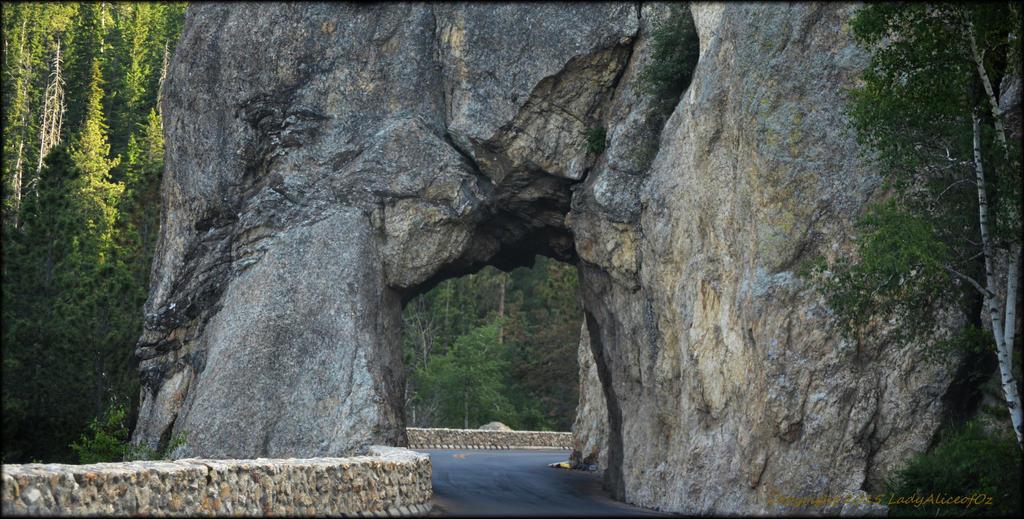 Needles Highway Tunnel - South Dakota, USA