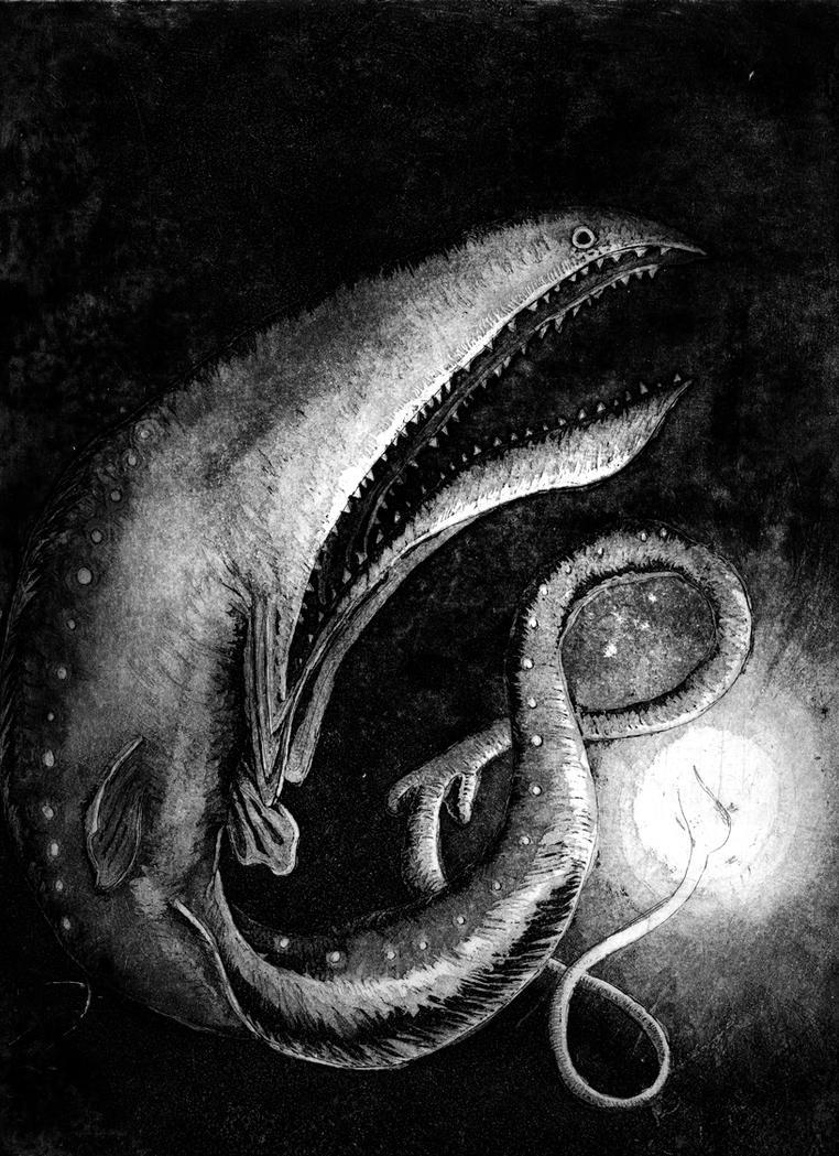 Gulper Eel by satanmoose