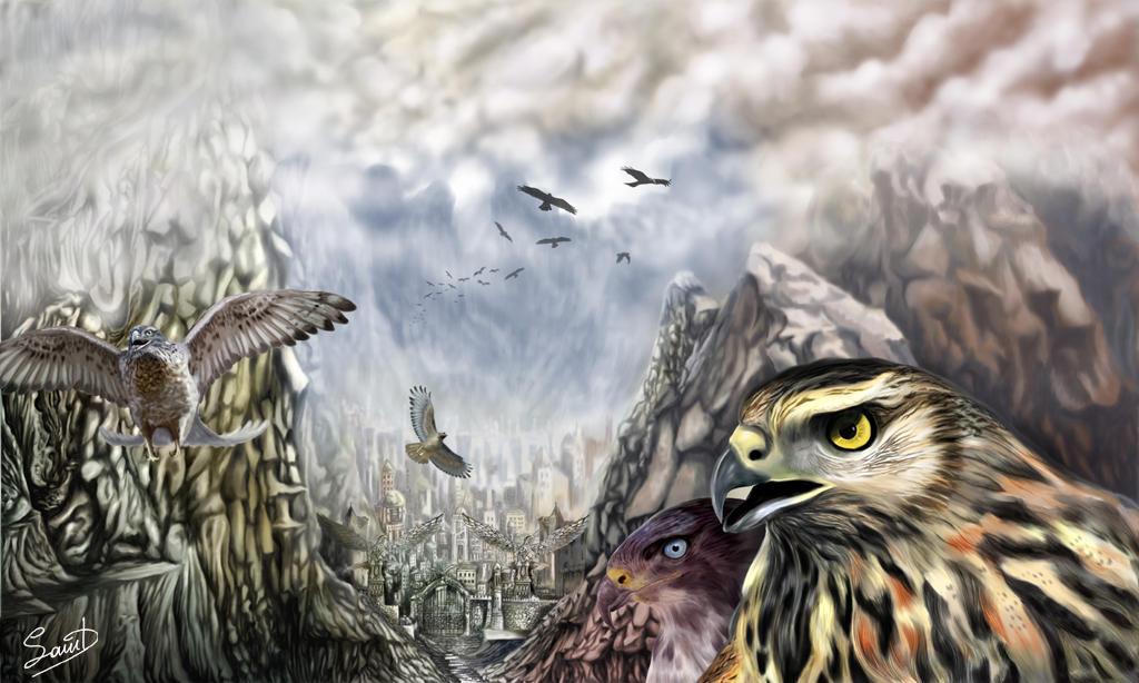 The hawks crossing by agios