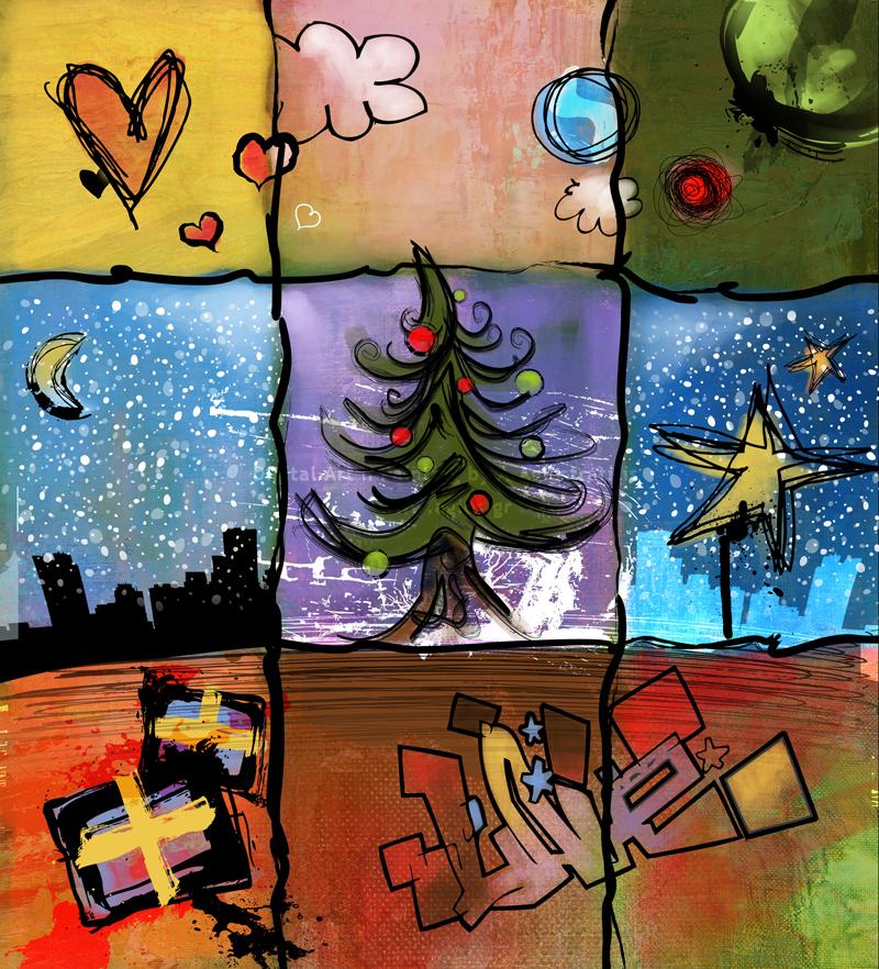 Green Christmas by agios