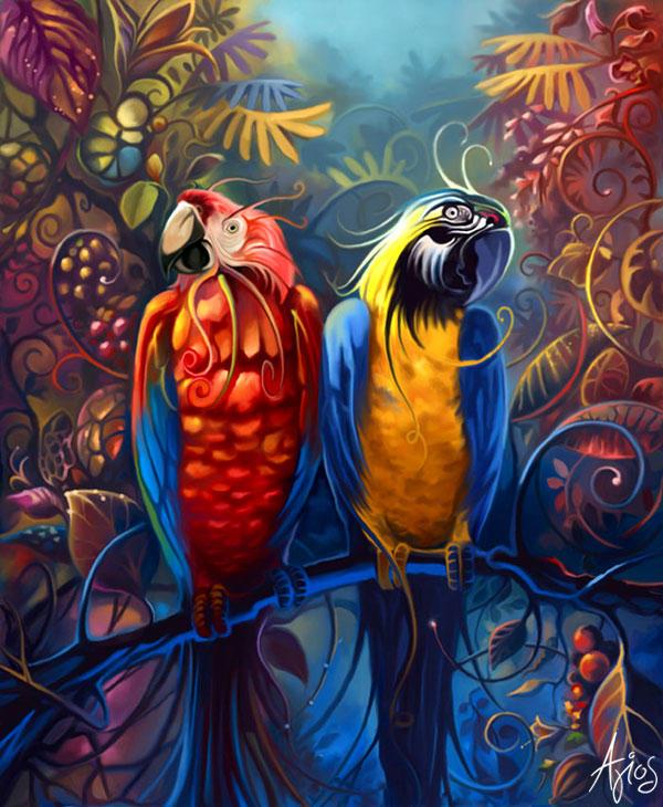 LOVEBIRDS by agios