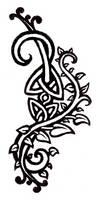 celtic vines tattoo design