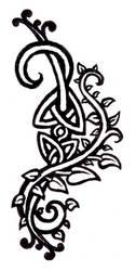 celtic vines tattoo design by DomoBraden