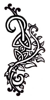 celtic vines tattoo design
