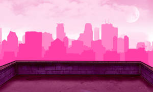 Pink city... by IODOLLARBAGEL