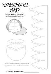 Paper Baseball Cap