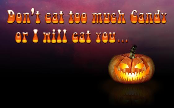 Halloween Pumpkin Wallpaper / Poster