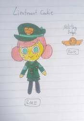 Cookie Run Cookiesona: Lieutenant Cookie