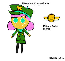 Cookie Run OC - Lieutenant Cookie (Digital)