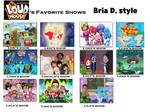 The Loud House Favorite Shows (Bria D. style)
