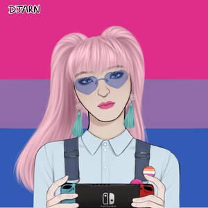 Picrew'd Nintendo Switcher Bria D.