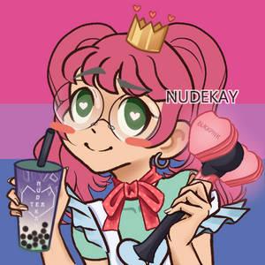 Bubble Tea Bria D. but in Picrew