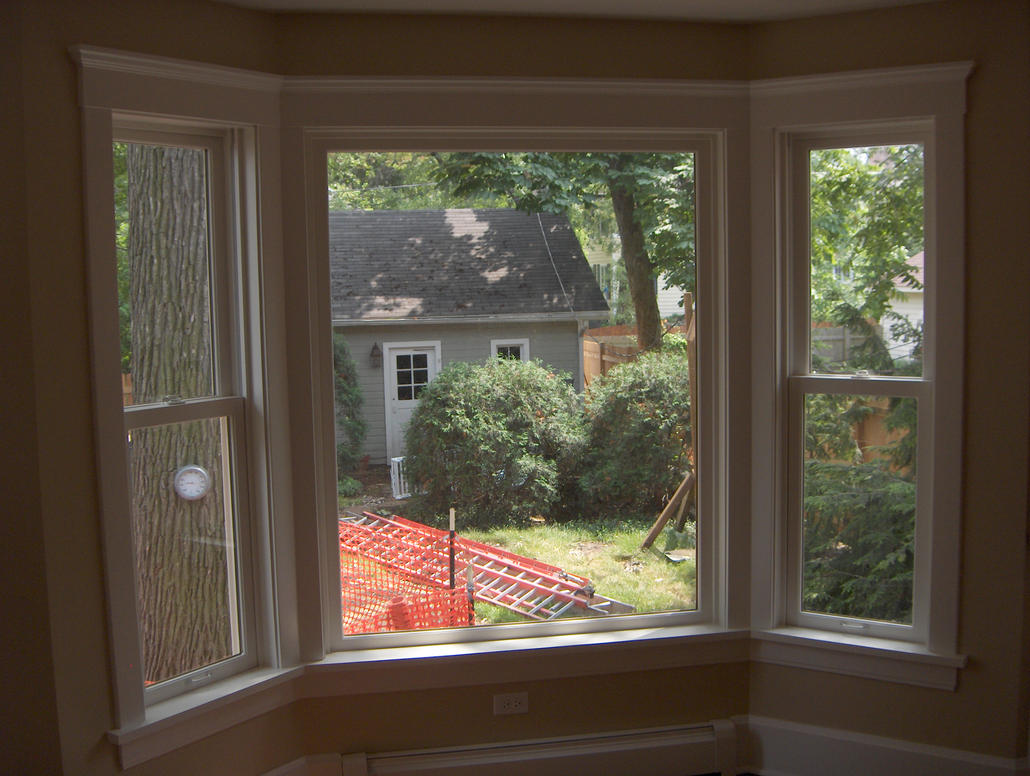 Trimmed Breakfast Room Bay Window By Hearte42 On Deviantart