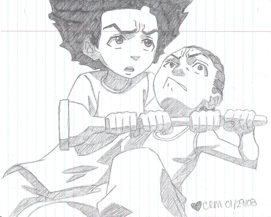 huey vs riley vs plunger by misszsn0wflake