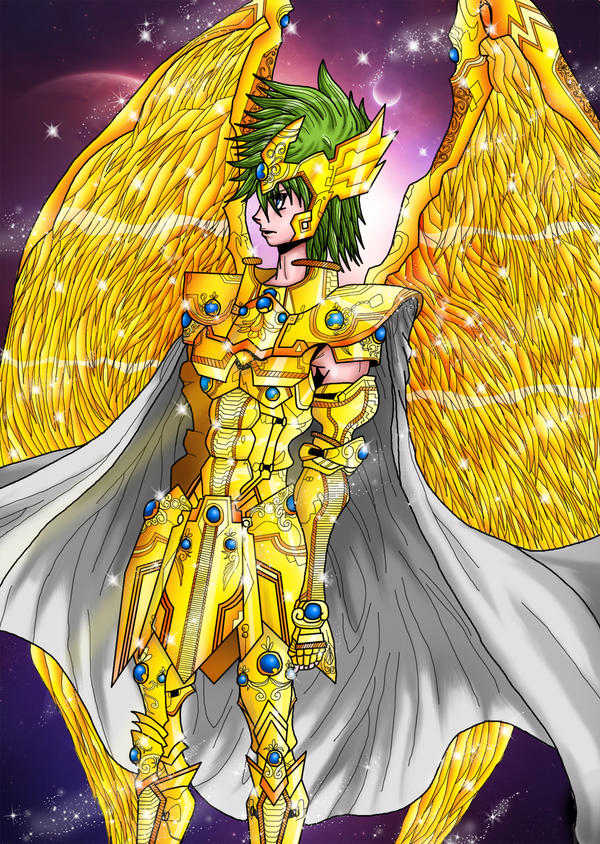 Aiolos - Sagitter -Saint Seiya by showtime86