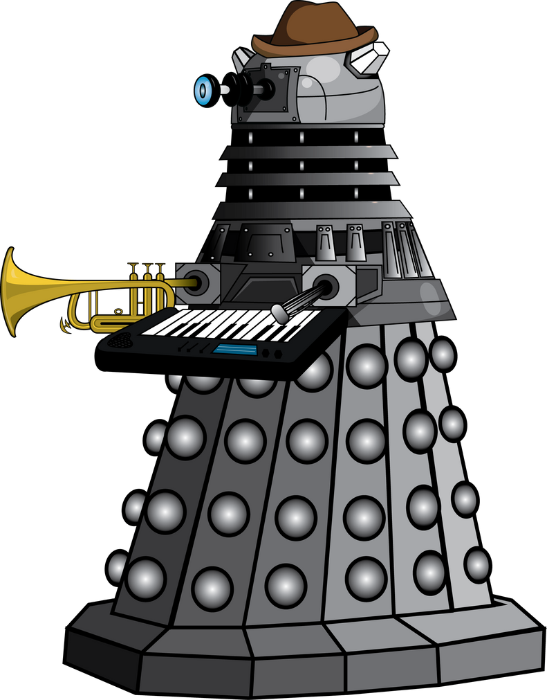 Jazzy dalek by peevelmouse