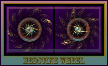 Medicine Wheel by Helen-Baq