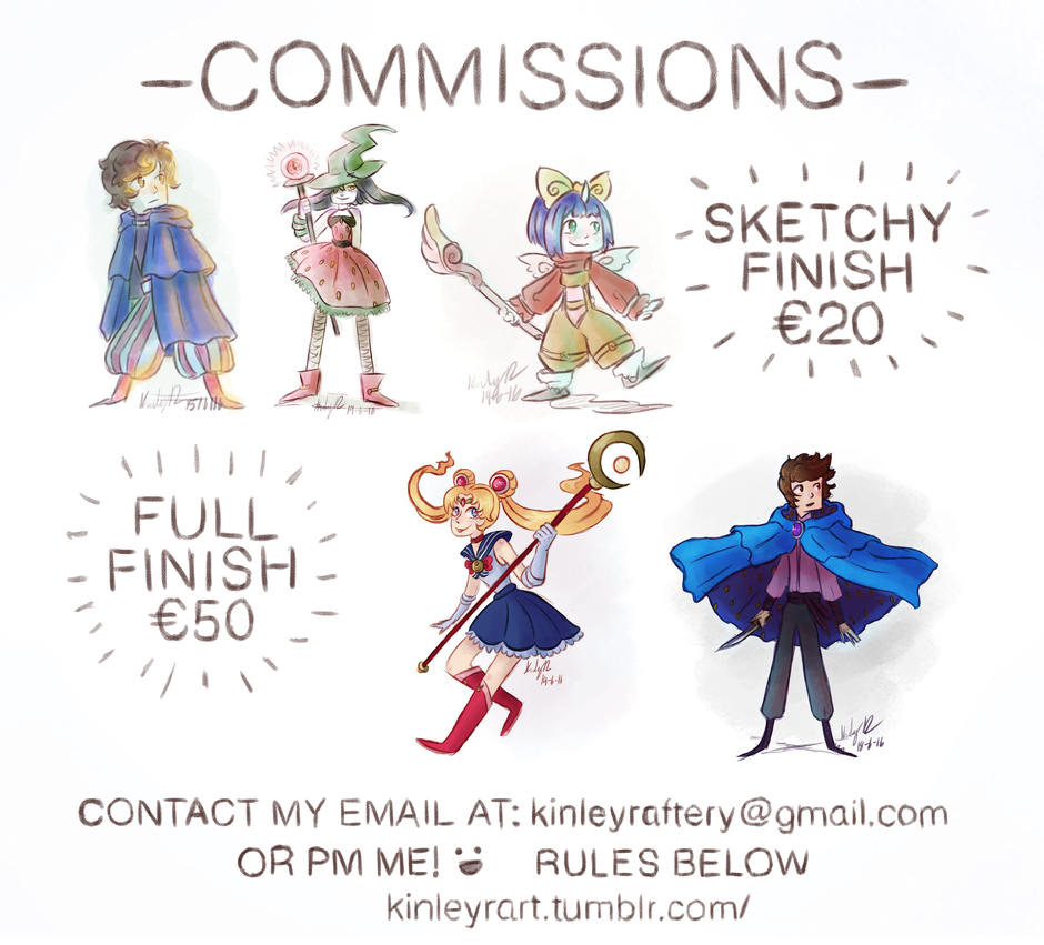 Commission Prices Info by Zynamite