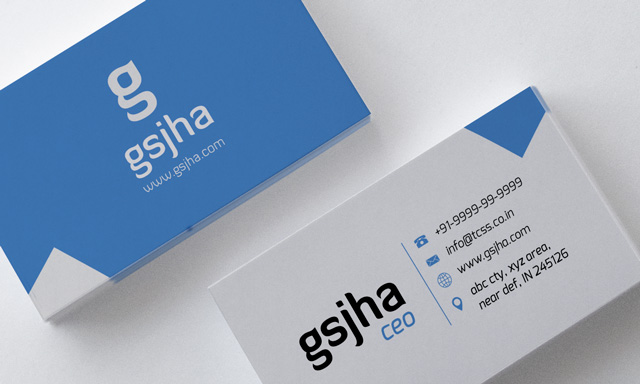 Simple business card full by gsjha on deviantart simple business card full by gsjha colourmoves Image collections
