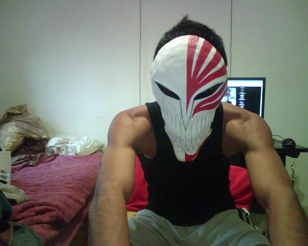 Ichigo 39 s vizard mask 4 by idra86 on deviantart - Ichigo vizard mask ...