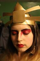 Suki Headdress Avatar the Last Airbender Cosplay by JanasBazaar