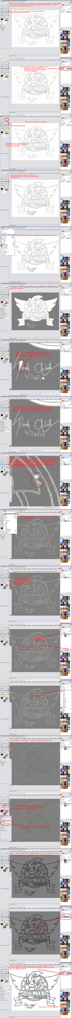 How to make line art in GIMP by FirebirdPhoenix87