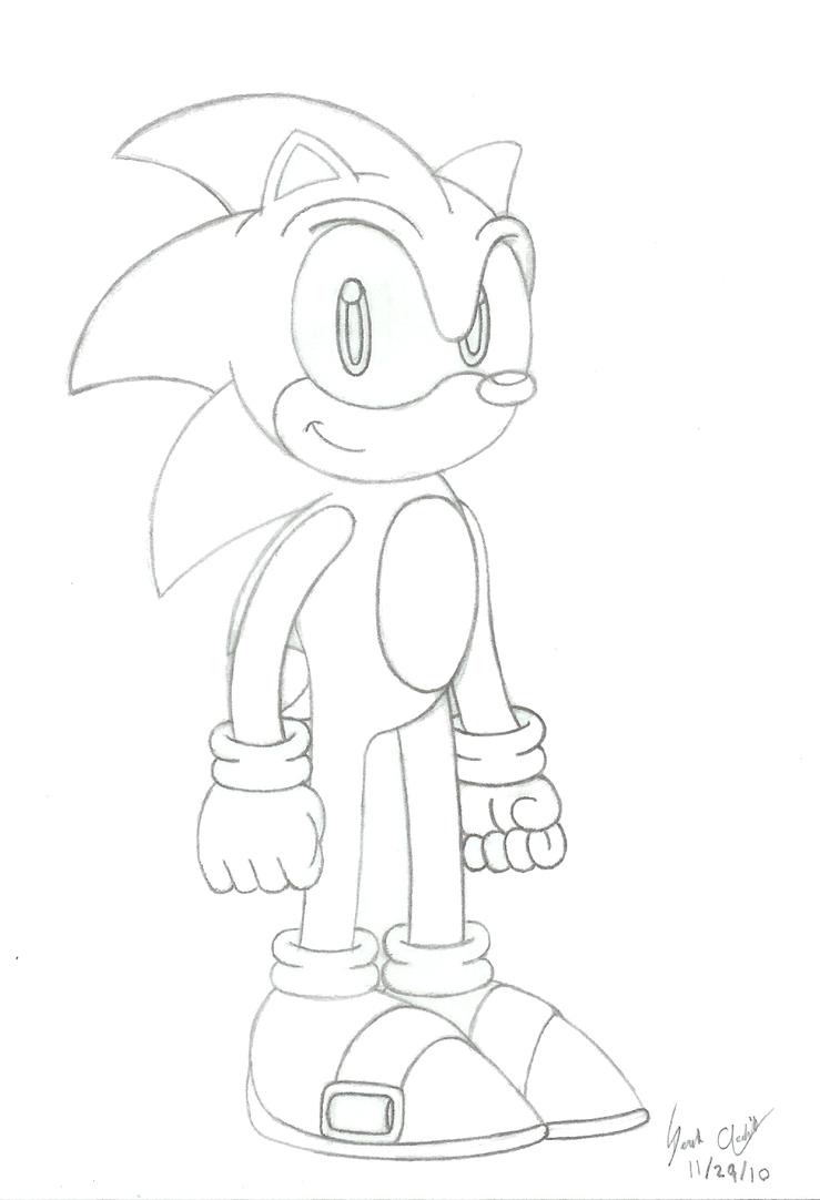 Sonic The Hedgehog Headshot Sonic The Hedgehog Hea...