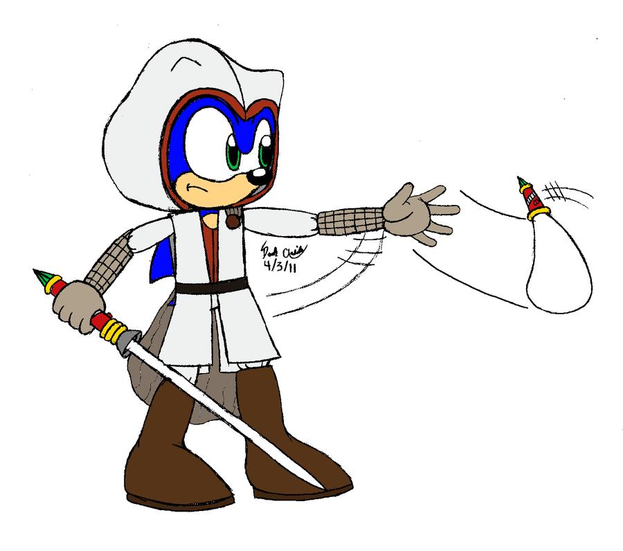 jedi_assassin_h... Lucas The Hedgehog