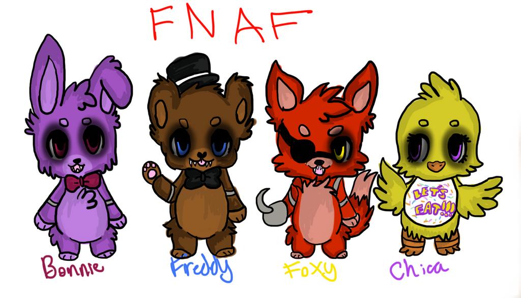 Cute fnaf by xxgalaxyrainxx on deviantart - Fnaf cute pictures ...