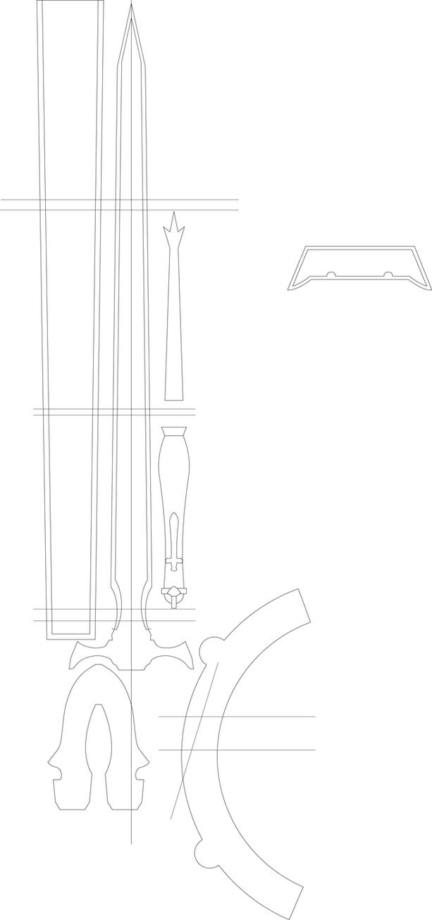 Lambent Light Paper Template By Stealthhamster On Deviantart