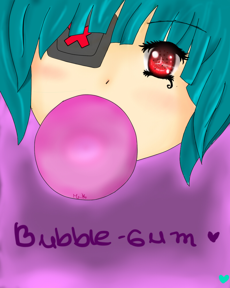 Bubble-gum by makirita