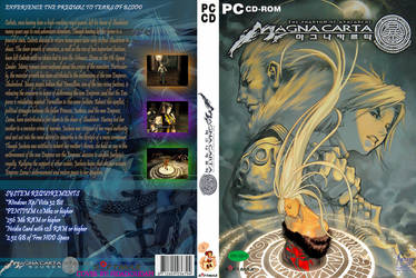 Magna Carta Custom Cover by ThinkFlabbergast