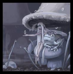 A Rainy Day by mashpotato18